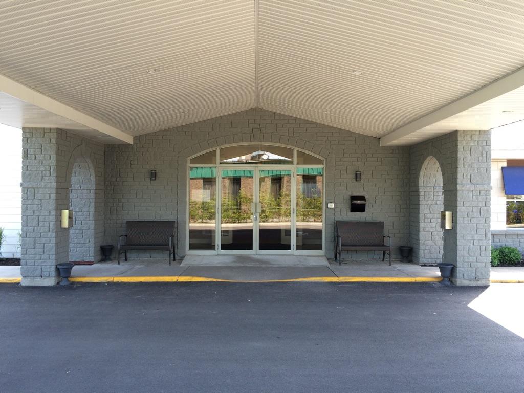 Extérieur du columbarium